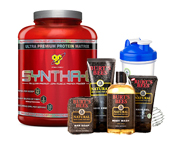 BSN PROTEINA SYNTHA-6 5 LBS + BURTS BEES FOR MEN PACK